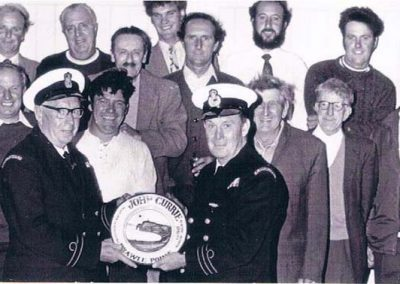 East Prawle Cliff Rescue team, 1968/69