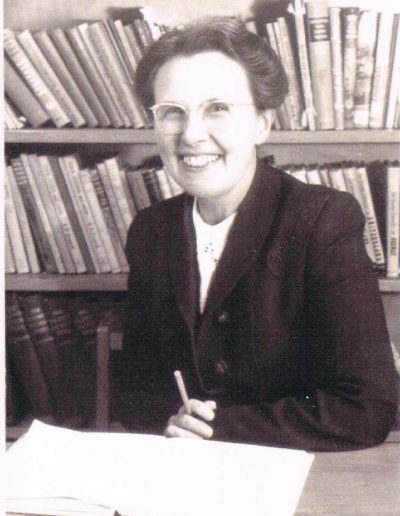 Probably Miss Wrigley, teacher at East Prawle School, 1938-1942