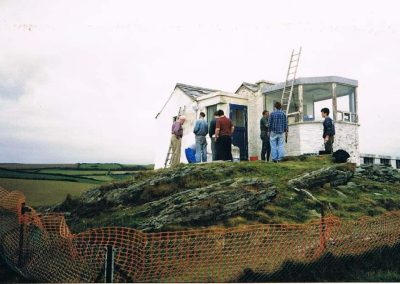 Rebuilding Prawle Point Coastguard/NCI lookout 1997-1998