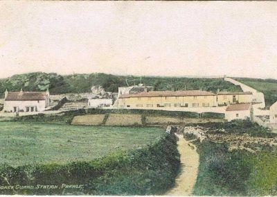 Original Coast Guard Station, Sea View cottages down New Houses, East Prawle, early 1900s
