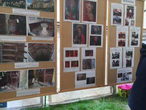 Photographic display at Prawle Fair