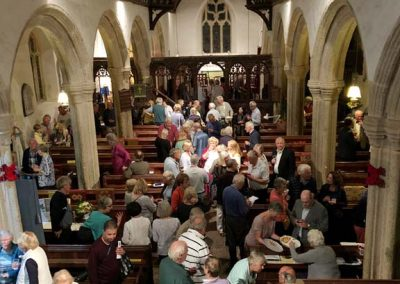 Ash Park Trio audience at St Sylvester's