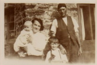Richard Partridge with Albert and Mary Partridge, his parents