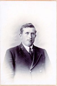 Richard Hopwood Hutchings about 1918, brother to Mary Ann
