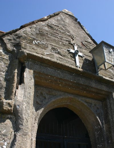 South Porch St Sylvester's Church before rebuilding