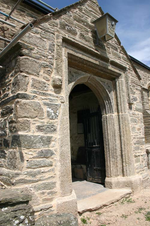 Vestry end of St Sylvester's Church Chivelstone