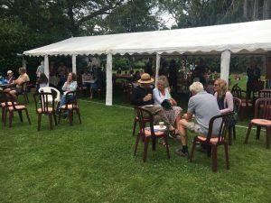 Church Fete August 2021 tea tent