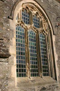 The window before the repairs